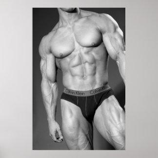 Bodybuilder Gym Wall & Health Clug Poster #8