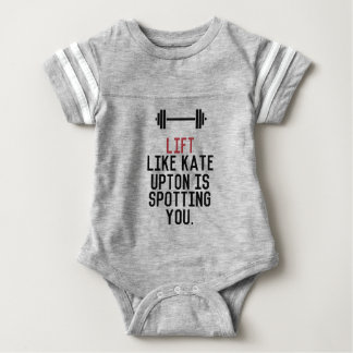 bodybuilder_kate upton baby bodysuit