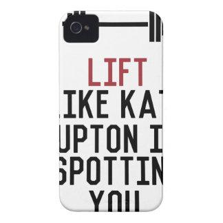 bodybuilder_kate upton Case-Mate iPhone 4 cases