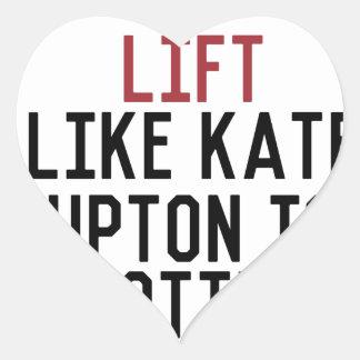 bodybuilder_kate upton heart sticker