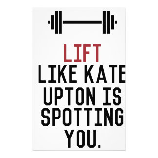 bodybuilder_kate upton stationery