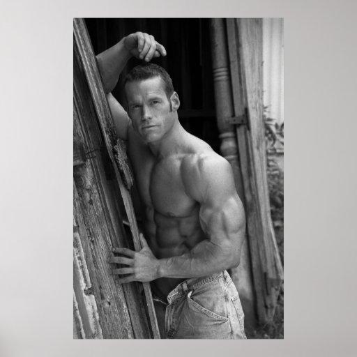 Bodybuilder Model Poster #1001