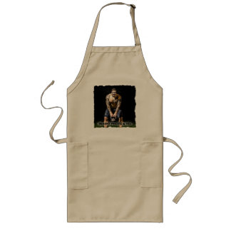 BodyBuilder Muscles Sport Fitness - YOUR Photo - Long Apron