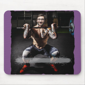 BodyBuilder Muscles Sport Fitness - YOUR Photo - Mouse Pad