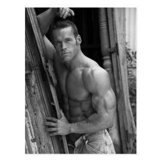 Bodybuilder Postcard #7