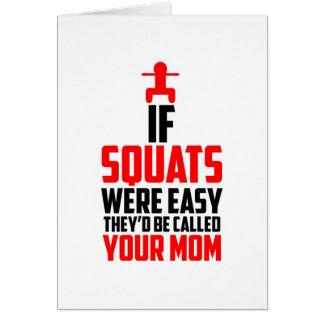 bodybuilder squats card