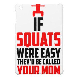 bodybuilder squats iPad mini cases