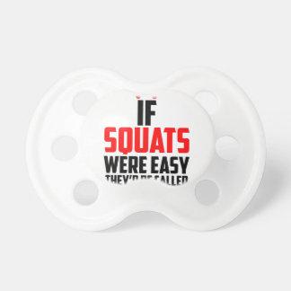 bodybuilder squats pacifier