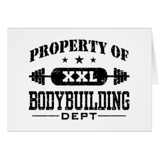 Bodybuilding Card