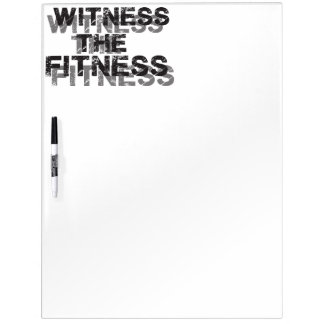 Bodybuilding Fitness Gym Dry Erase Board