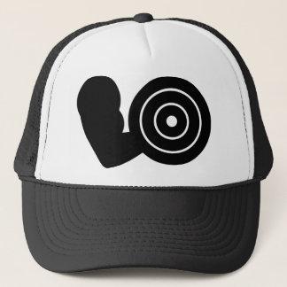 bodybuilding icon trucker hat