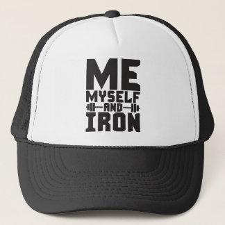 Bodybuilding Motivation - Me, Myself and Iron Trucker Hat
