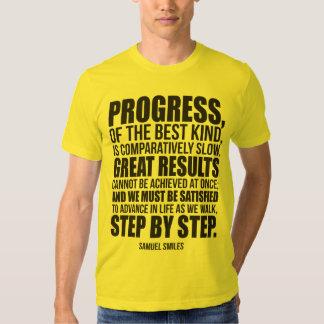 Bodybuilding Motivation - Progress T Shirts