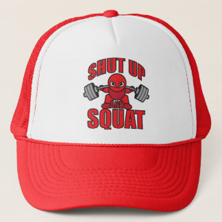 Bodybuilding - Shut Up And Squat - Kawaii Leg Day Trucker Hat