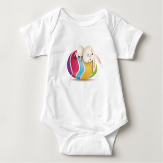 Bodystocking baby with reason for Easter Baby Bodysuit
