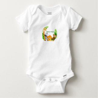 Bodystocking Cotton Baby Animals Baby Onesie