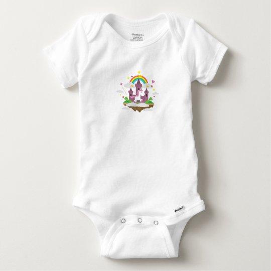 Bodystocking Cotton Baby Fairy/Princess Baby Onesie