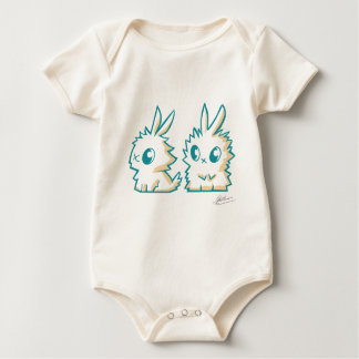 Bodystocking small rabbits baby bodysuit