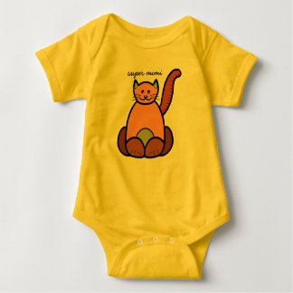 bodystocking super cat mimi baby bodysuit