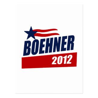 BOEHNER 2012 CAMPAIGN BANNER POST CARDS