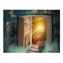 boek postcard