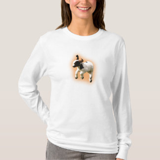 Boer Goat Kid Jumping T-Shirt