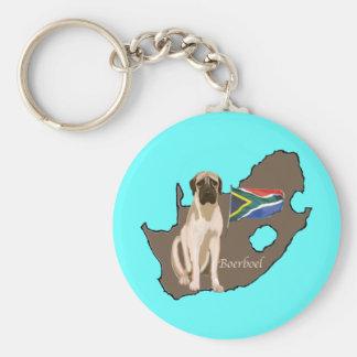 Boerboel Dog Keychain