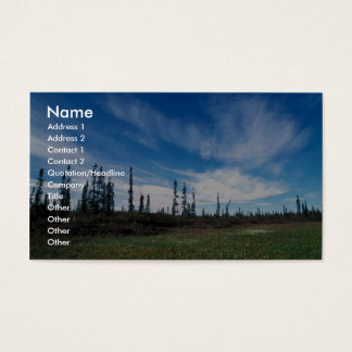 Bog and Sporadic Spruce Business Card