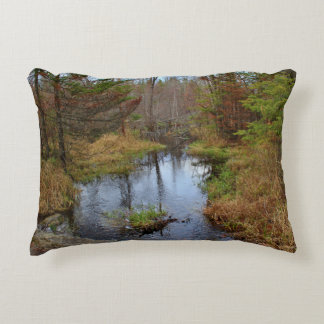 Bog Brook Later Autumn 2015 Accent Pillow