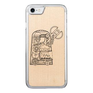 "BoG ""Golem with Sekira"" Wood iPhone 6 Carved iPhone 7 Case"