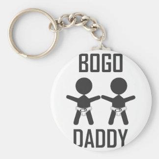 BOGO Daddy Keychain