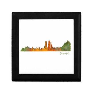 Bogota City Colombia Cundinamarca Skyline v01 Gift Box