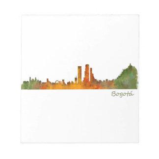 Bogota City Colombia Cundinamarca Skyline v01 Notepad