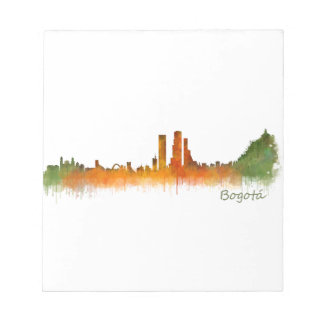 Bogota City Colombia Cundinamarca Skyline v02 Notepad