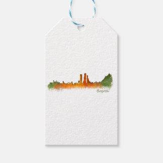 Bogota City Colombia Cundinamarca Skyline v02 Pack Of Gift Tags