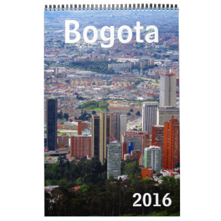 bogota colombia 2016 wall calendars