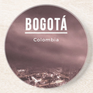 Bogota, Colombia Drink Coaster