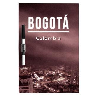 Bogota, Colombia Dry Erase Board
