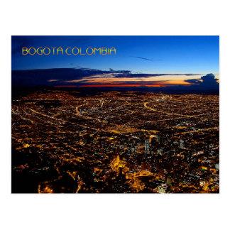 Bogotá Colombia Travel Post Card