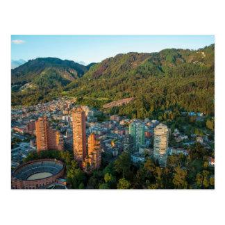 Bogota et les montagnes de eux Marchez Cartes Postales