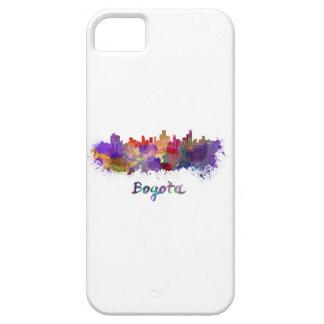 Bogota skyline in watercolor iPhone 5 cover