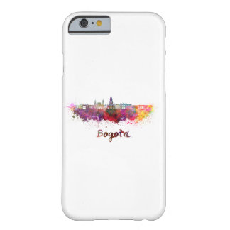 Bogota v2 skyline in watercolor barely there iPhone 6 case