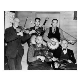 Bogtrotters Band, 1937 Poster