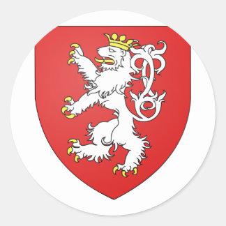 Boheme, Czech Classic Round Sticker