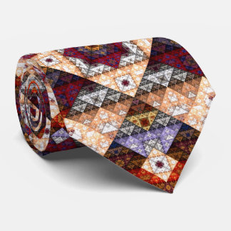 Bohemian Abstract Pattern Tie