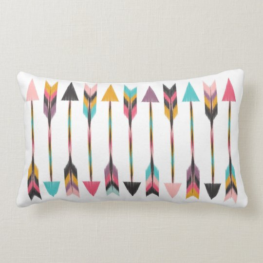 Bohemian Arrows Lumbar Pillow