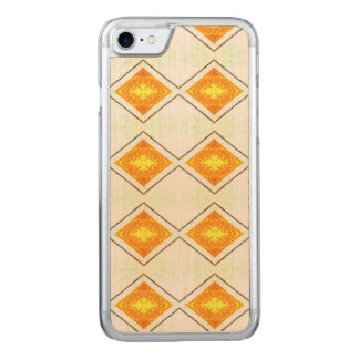 BOHEMIAN ART DECO TRIANGLE PATTERN CARVED iPhone 8/7 CASE