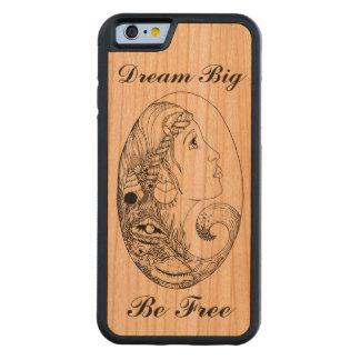 Bohemian Beach Gypsy Dream Big Be Free Cherry iPhone 6 Bumper Case