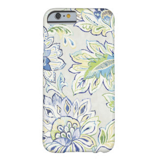 Bohemian Blue Flower Barely There iPhone 6 Case