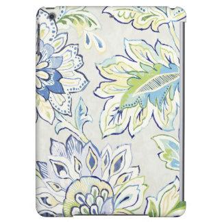 Bohemian Blue Flower Case For iPad Air